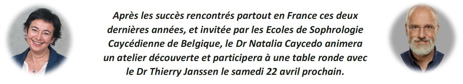 informations Venue Natalia Caycedo Bruxelles